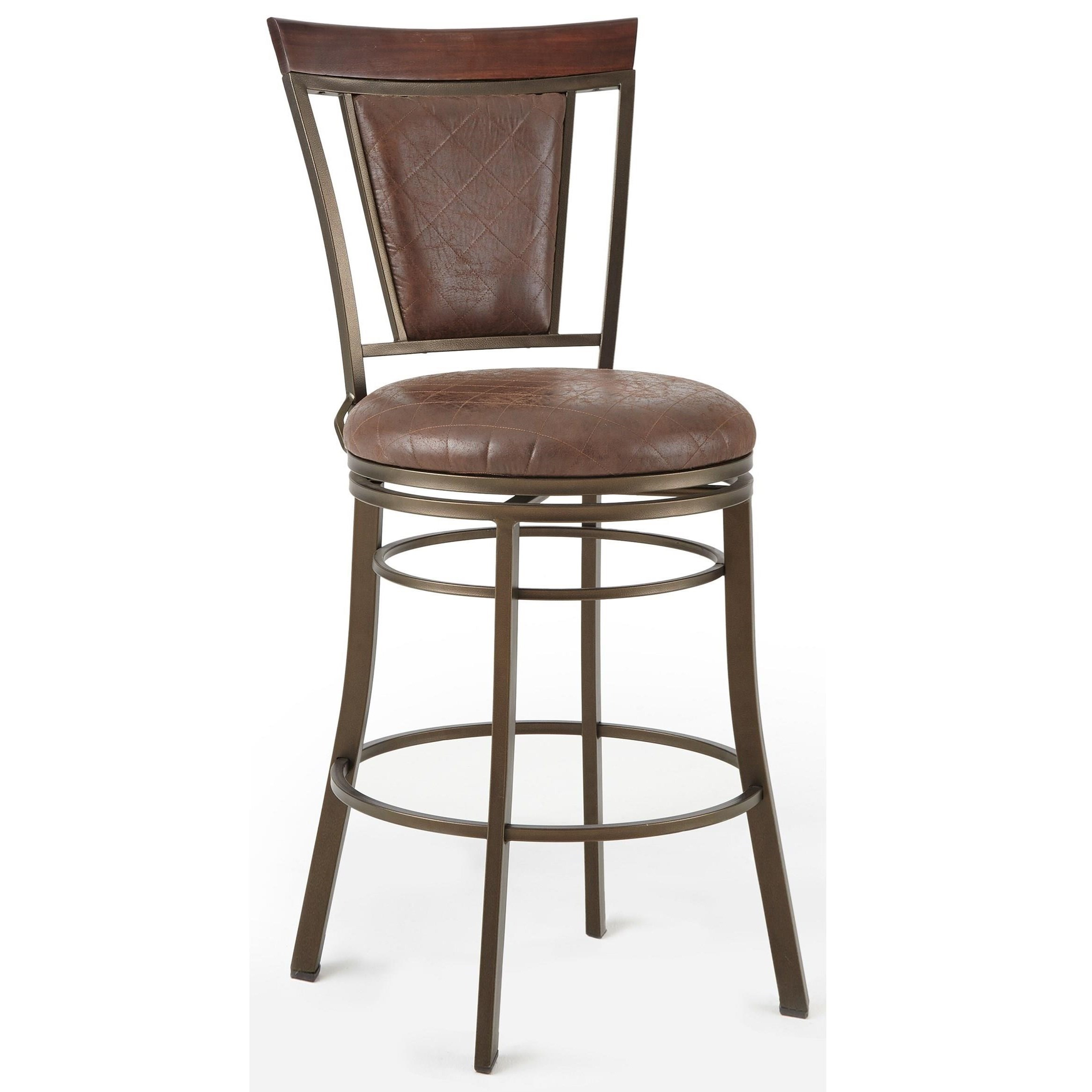 Steve Silver Cecile Swivel Bar Chair - Item Number: CC650SBC