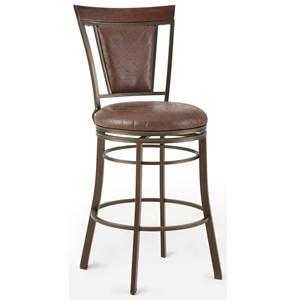 Vendor 3985 Cecile Swivel Bar Chair