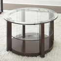 Steve Silver Cerchio Round Cocktail Table - Item Number: CC1000C