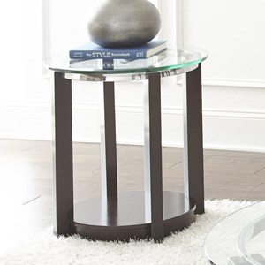 Steve Silver Cerchio Round End Table