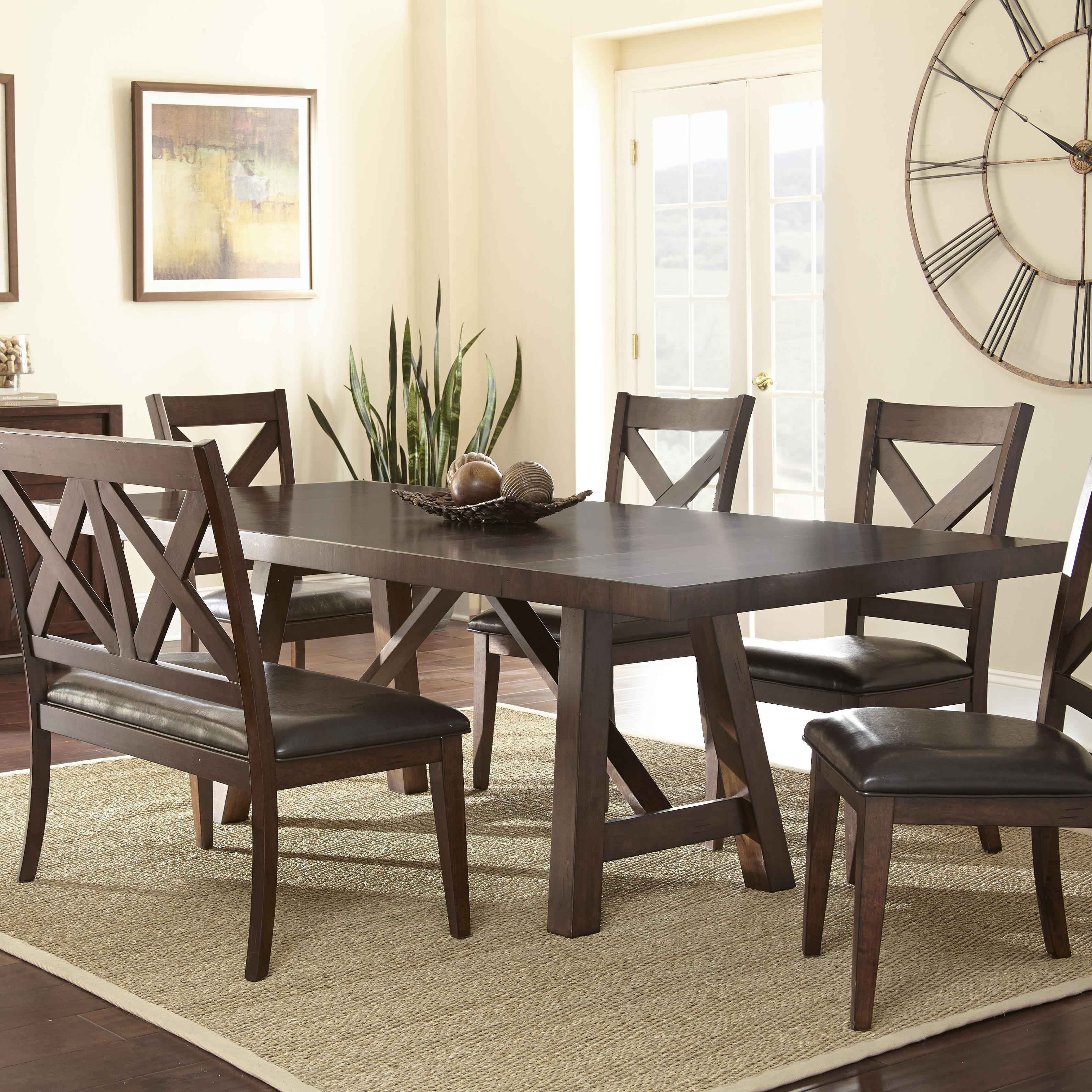Steve Silver Clapton Dining Table - Item Number: CT500T