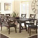 Vendor 3985 Clapton Dining Table - Item Number: CT500T