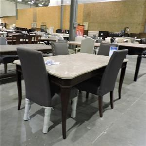 Steve Silver     Marble Dining Table
