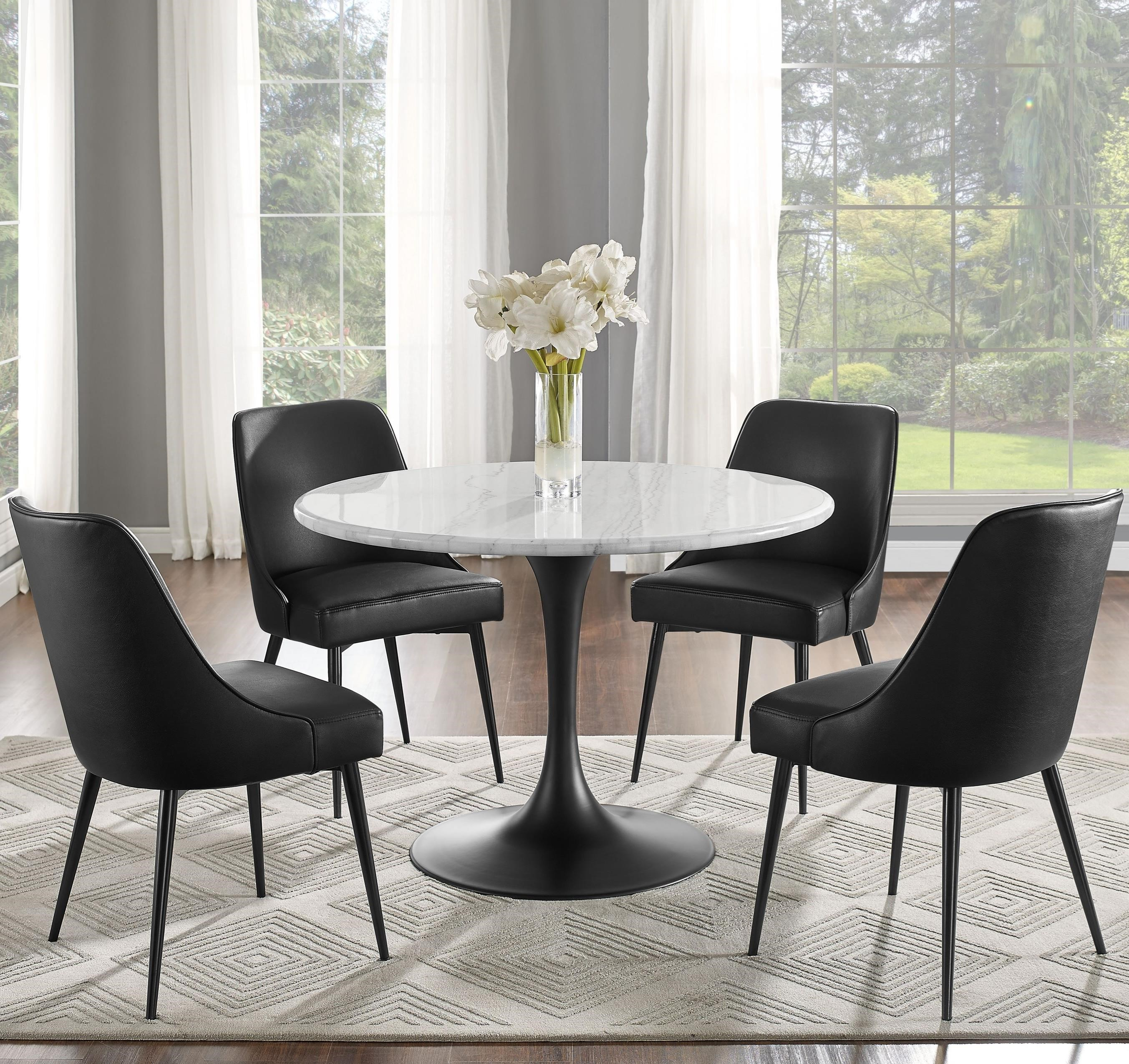 Colfax 5 Pc Dining Set by Steve Silver at Standard Furniture