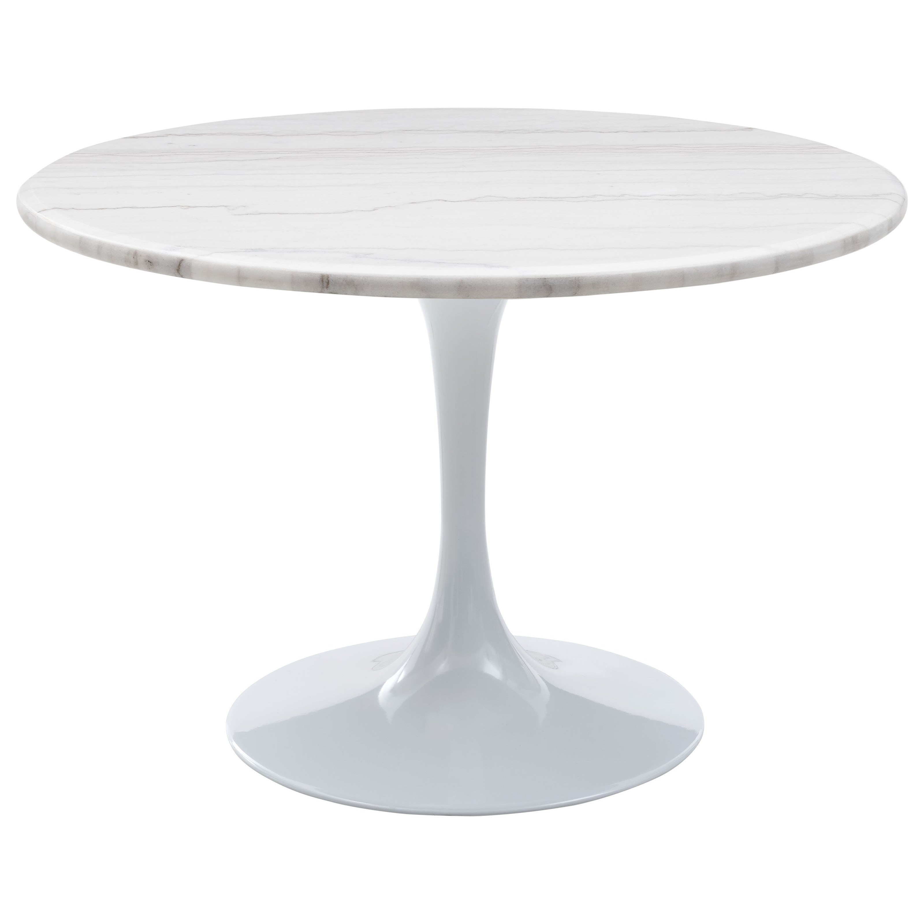 Colfax Table - White Top & White Base by Steve Silver at Walker's Furniture