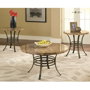 Steve Silver Collison 3 Piece Table Group