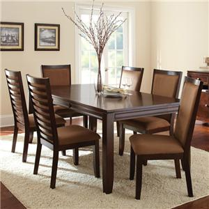 Morris Home Furnishings Cornell 7-Piece Dining Set
