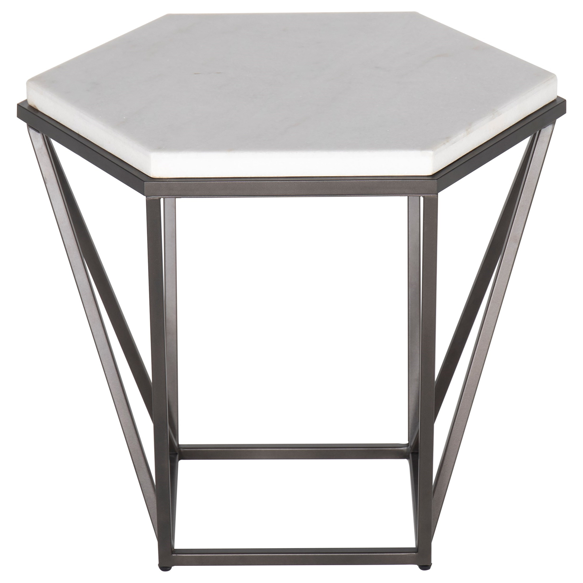 Corvus End Table by Steve Silver at Northeast Factory Direct