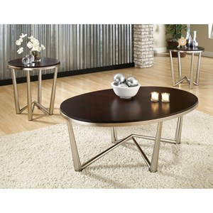 Steve Silver Cosmo 3-Pack of Occasional Tables - cm3500