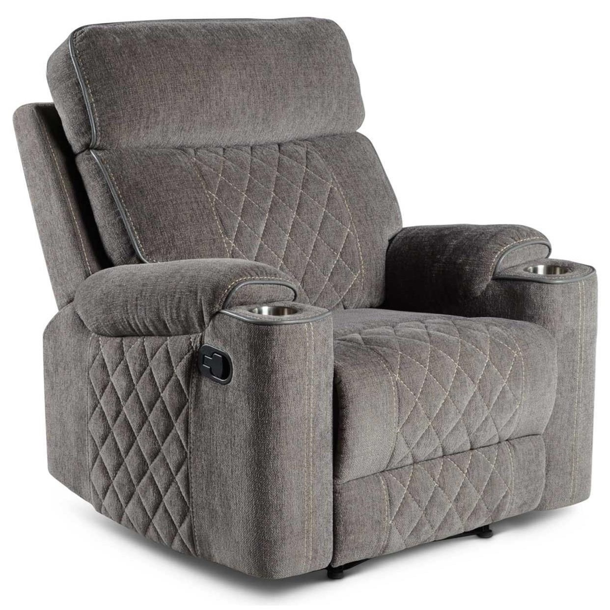 Crawford Motion Recliner Chair by Steve Silver at Northeast Factory Direct