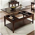 Steve Silver Crestline Lift Top Cocktail Table with Casters - Item Number: CL200CL