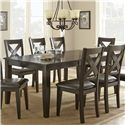 Morris Home Furnishings Crosspointe Dining Table - Item Number: CP600T