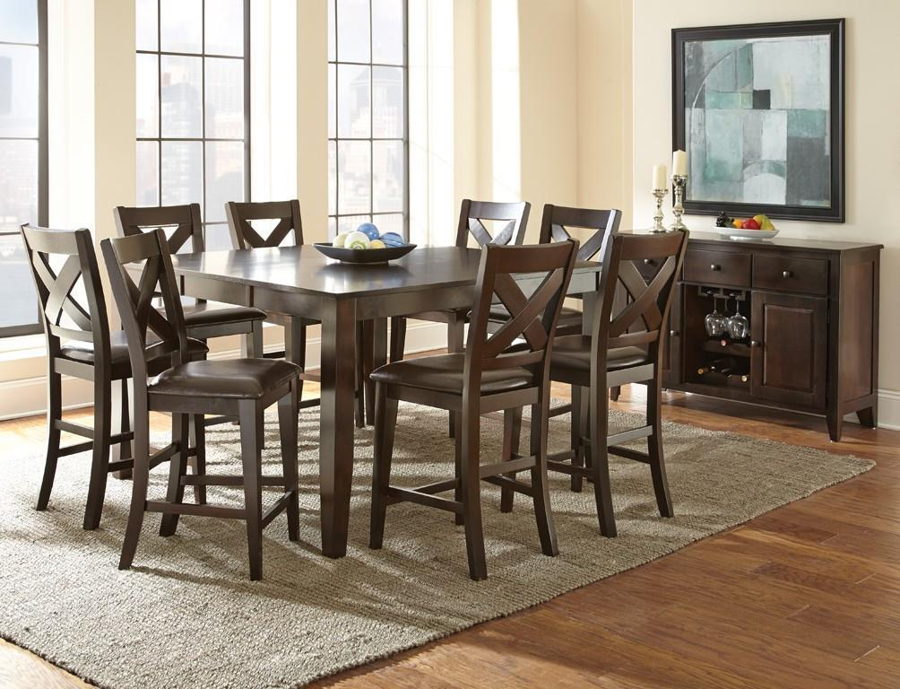 Steve Silver Crosspointe Casual Dining Room Group - Item Number: CPC Dining Room Group 1