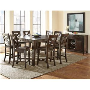 Steve Silver Crosspointe Casual Dining Room Group