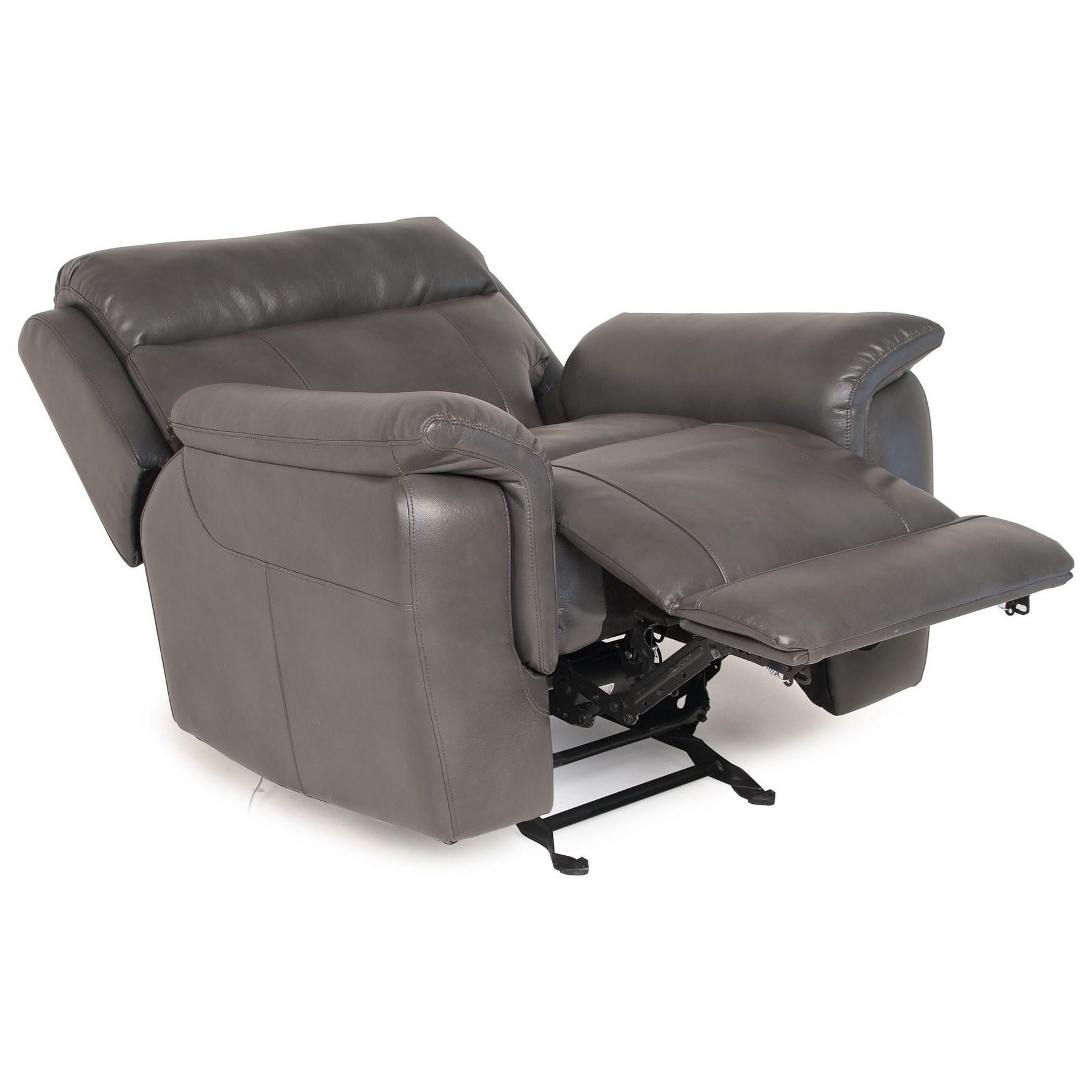 Steve Silver Dakota Lay Flat Glider Reclining Chair