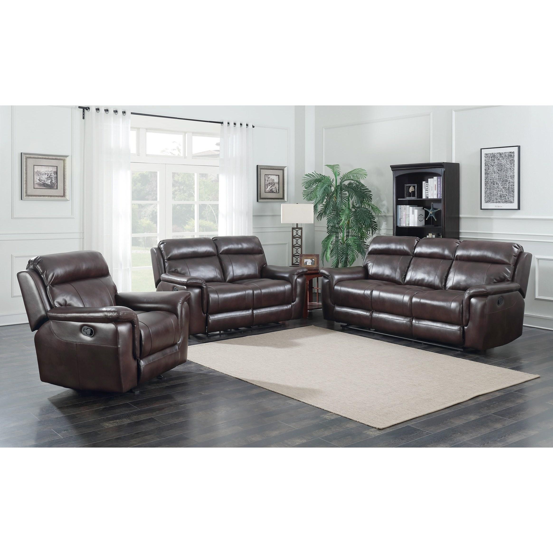 Living Room Essentials: Belfort Essentials Dakota Reclining Living Room Group