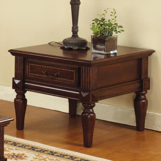 Steve Silver Davina End Table - Item Number: DV100E