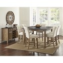 Steve Silver Debby Dining Room Group - Item Number: DB Dining Room Group 1