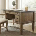 Steve Silver Debby Bluestone Writing Desk - Item Number: DB150D