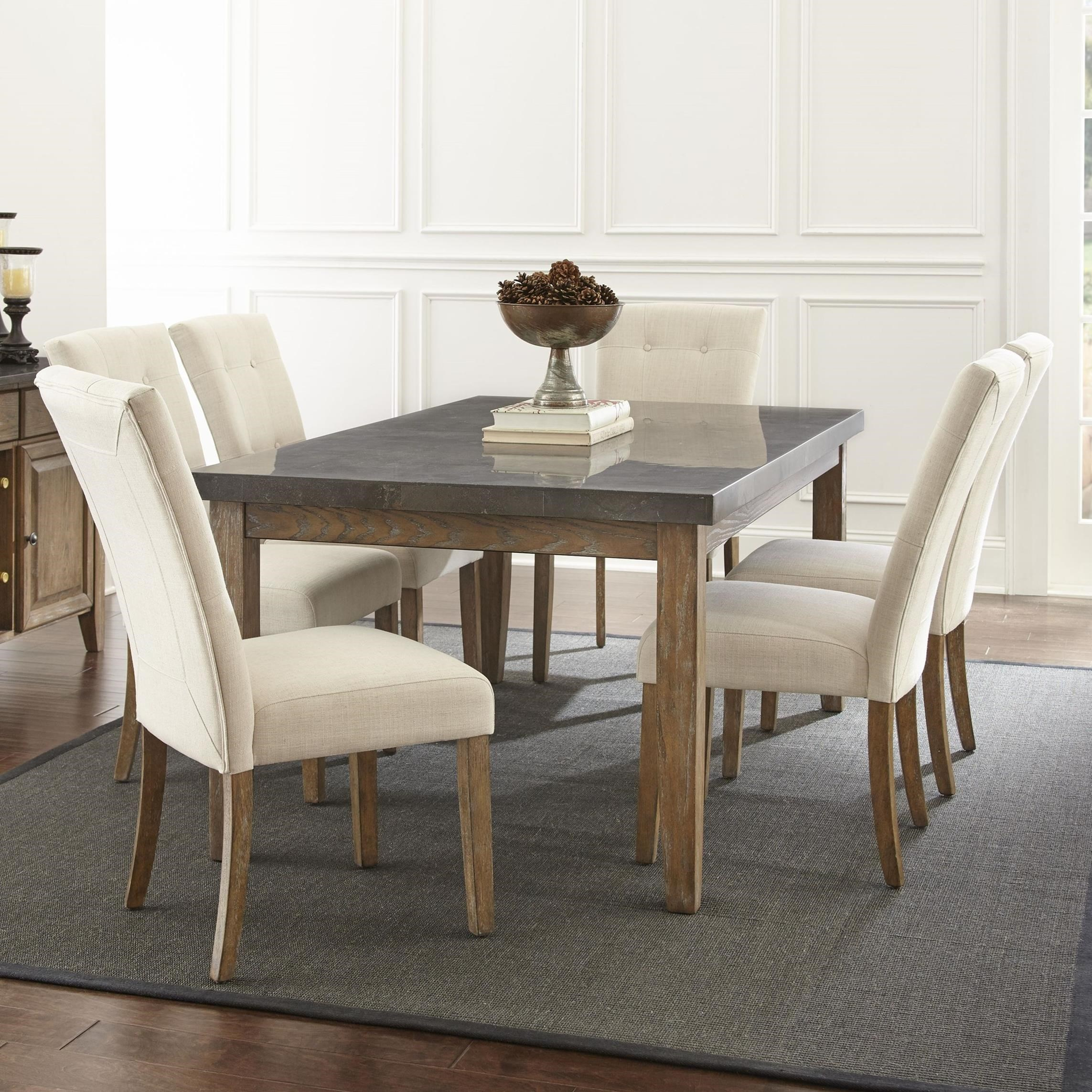 Debby 7 Piece Table and Chair Set by Steve Silver at Northeast Factory Direct