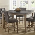 Steve Silver Debby Square Dining Table - Item Number: DB5454MT+DB600TL