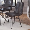 Steve Silver Derek Industrial Side Chair - Item Number: DK450S