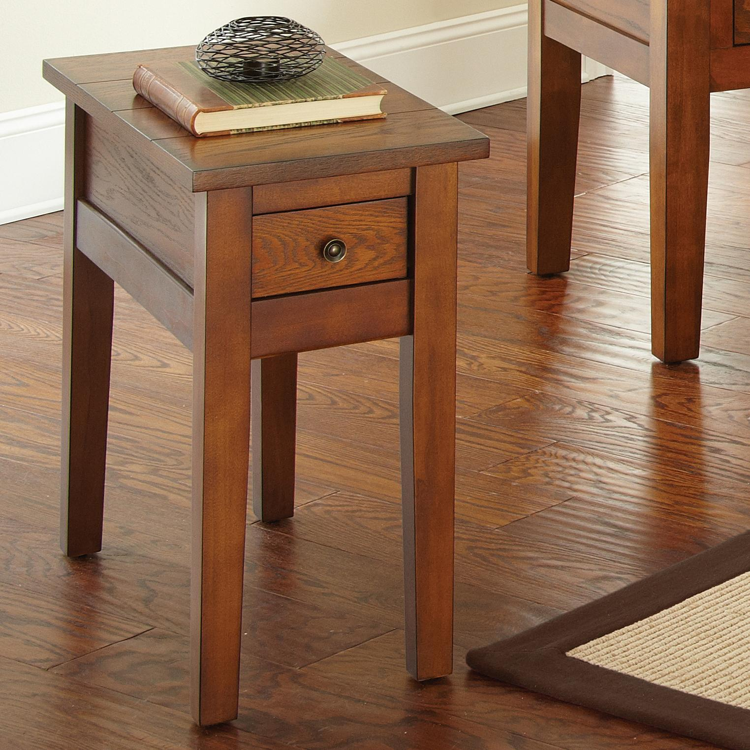 Steve Silver Desoto Chairside End Table - Item Number: DE250EC