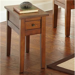 Morris Home Furnishings Desoto Chairside End Table