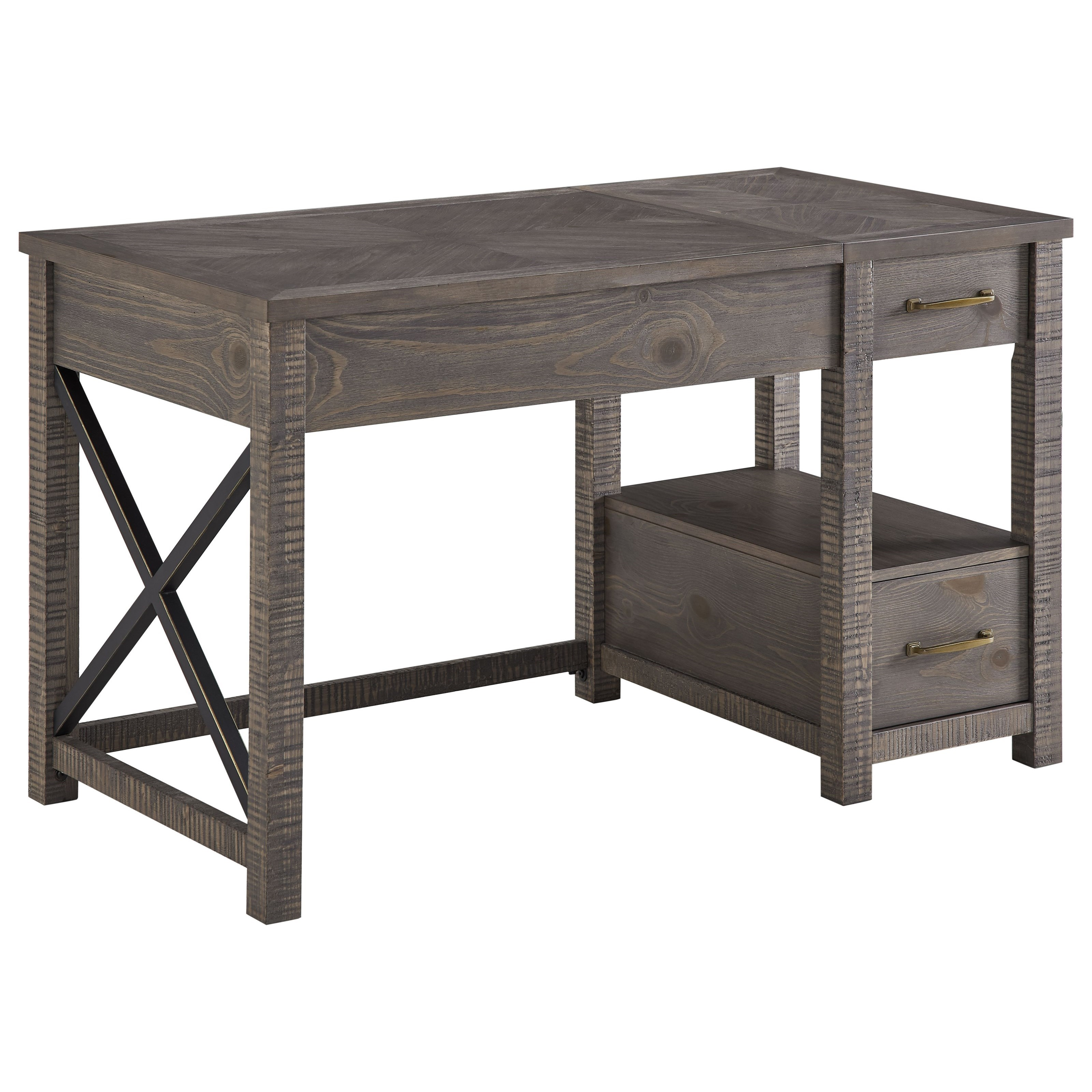 Dexter Lift-Top Desk by Steve Silver at Walker's Furniture