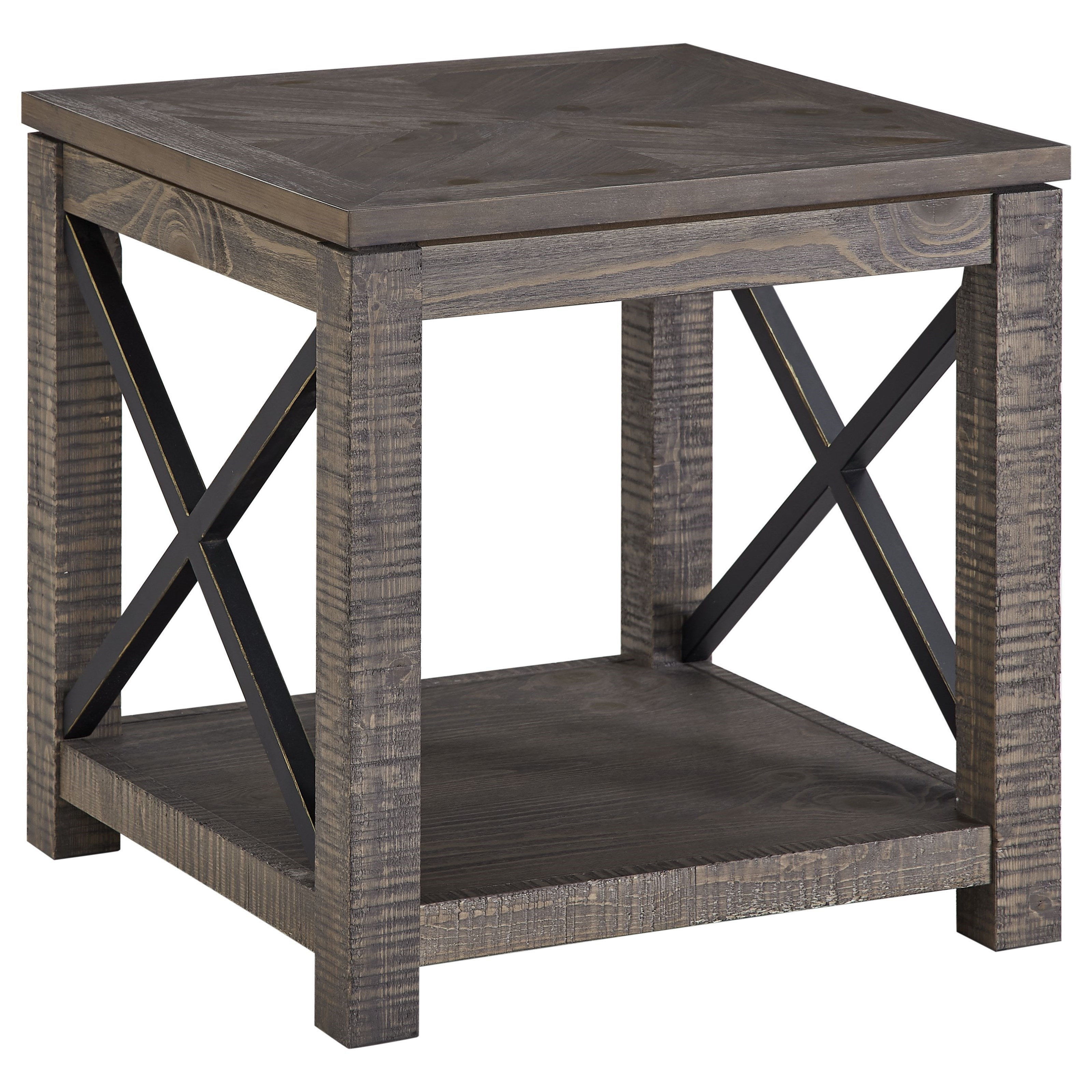 Dexter End Table by Steve Silver at Miller Home