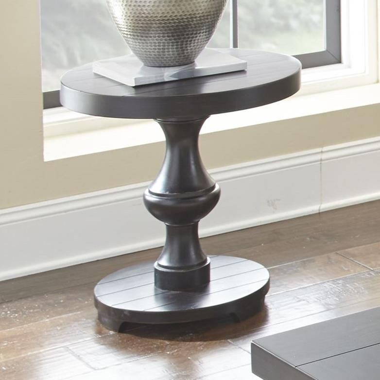 Dory Round End Table by Steve Silver at Walker's Furniture