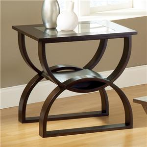 Steve Silver Dylan  Square End Table