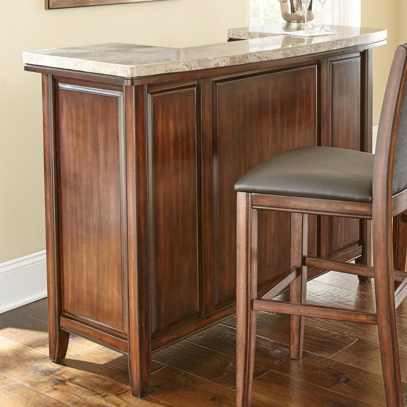 Prime Eileen Marble Top Bar - Item Number: EE500SVT+EE500SVB