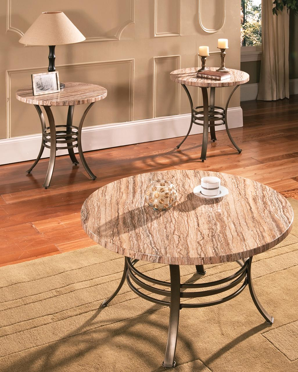 Steve Silver Ellen 3-Pack Occasional Table Set - Item Number: EL3000T+B