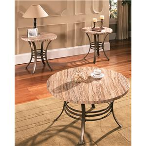 Morris Home Furnishings Ellen 3-Pack Occasional Table Set