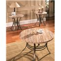 Morris Home Furnishings Ellen 3-Pack Occasional Table Set - Item Number: EL3000T+B