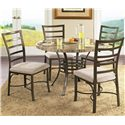 Morris Home Furnishings Ellen 5-Piece Set - Item Number: EL450BS+EL450MT