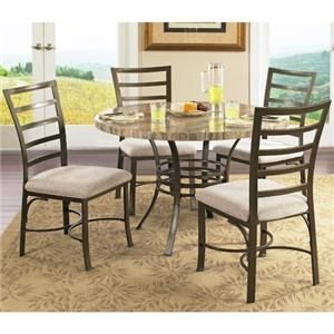 Steve Silver Ellen 5 Piece Table Chair Set