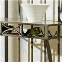 Morris Home Furnishings Ellen Metal Backers Rack - Wine Bottle Holder