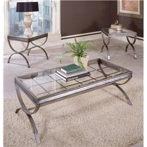 Steve Silver Emerson EM 3 Pack Occasional Table