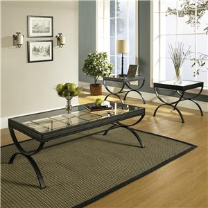 Morris Home Emerson EM 3 Pack Occasional Table