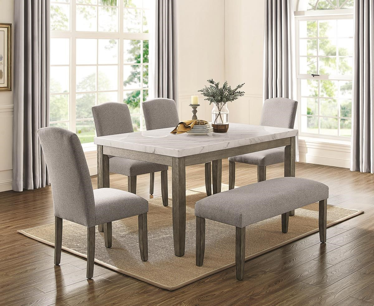 Emily 5 Piece Dining Set by Steve Silver at Darvin Furniture