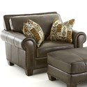Steve Silver Escher Transitional Chair - Item Number: SR810C-Coffee Bean
