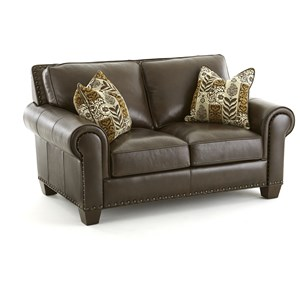 Morris Home Escher Transitional Loveseat