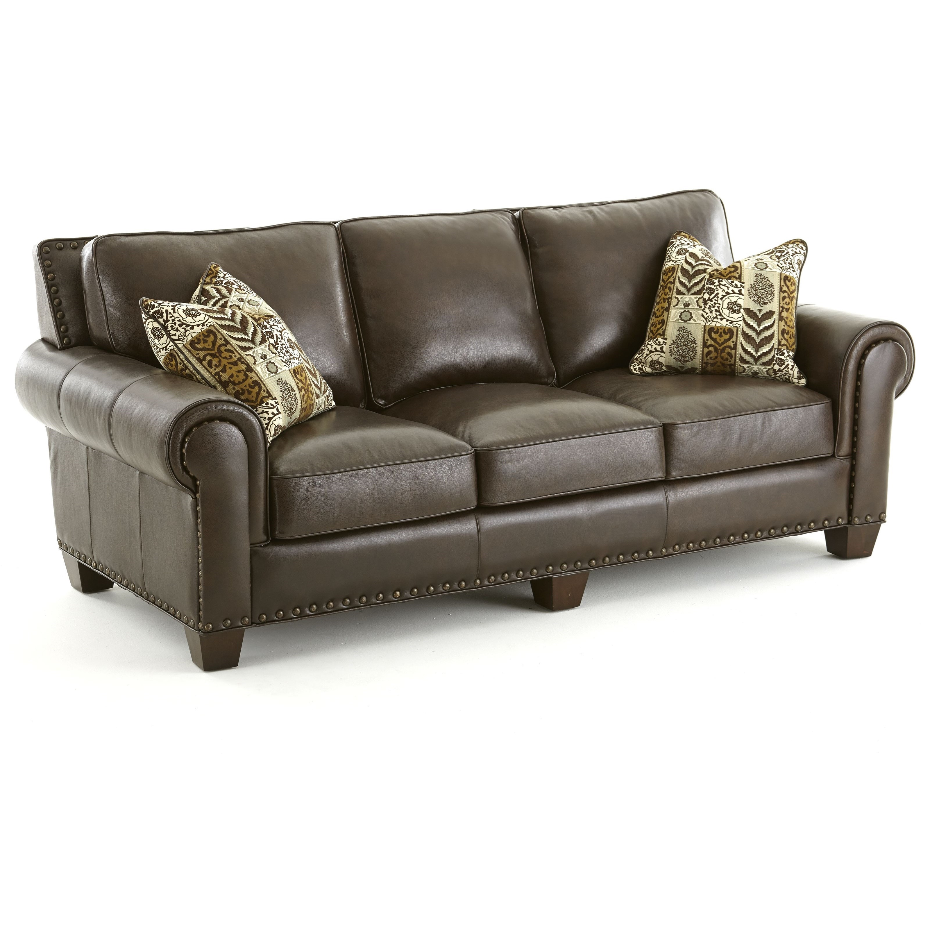 Steve Silver Escher Transitional Sofa - Item Number: SR810S-Coffee Bean
