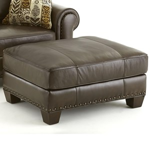 Steve Silver Escher Transitional Ottoman