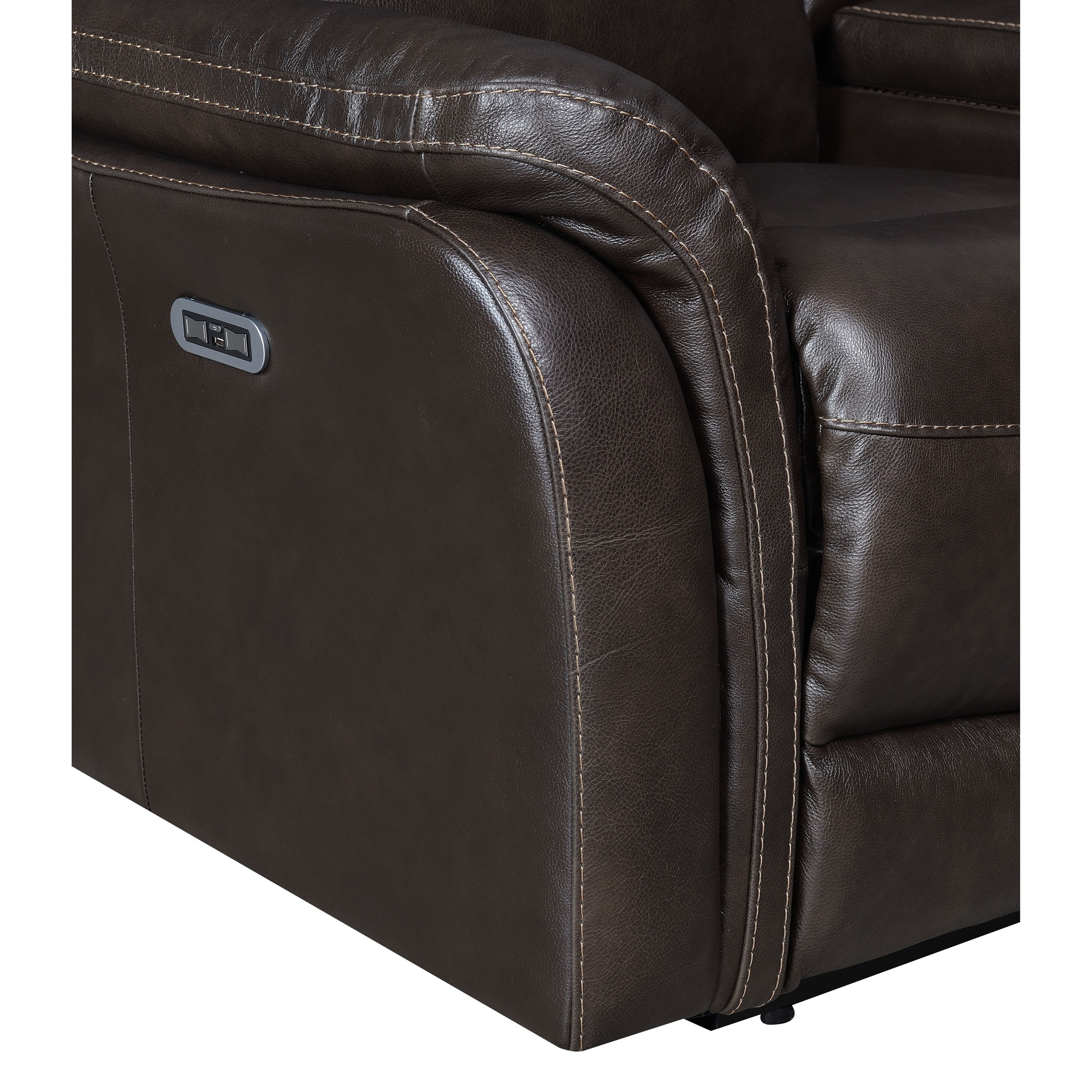 Steve Silver Fortuna Ft850cc Contemporary Power Recliner