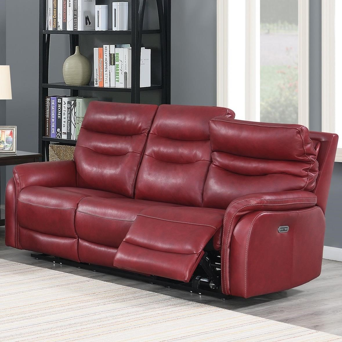 Fortuna Power Reclining Sofa by Steve Silver at Northeast Factory Direct
