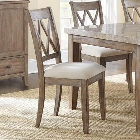 Double X Back Dining Chair