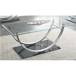 Morris Home Furnishings Galena Galena Cocktail Table